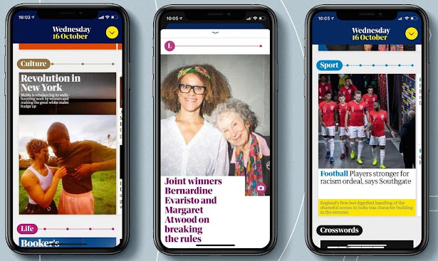 The Guardian launched ad-free daily app across iOS and Android devices, for paid subscribers.