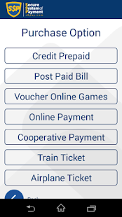 SSP (Secure System of Payment)- screenshot thumbnail