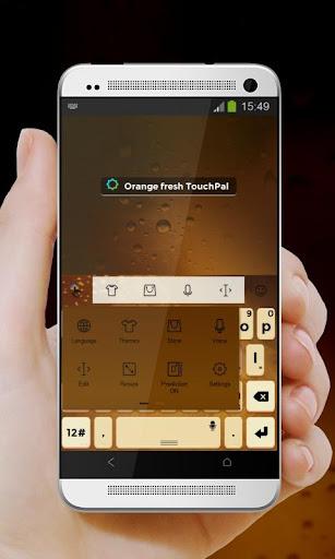 玩免費個人化APP|下載オレンジ新鮮Orenji shinsen TouchPal app不用錢|硬是要APP