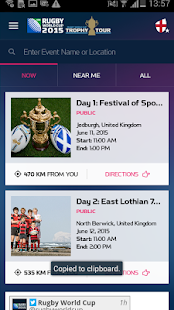 Official Rugby World Cup 2015- screenshot thumbnail