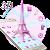 3D Pink Paris Eiffel Tower file APK Free for PC, smart TV Download