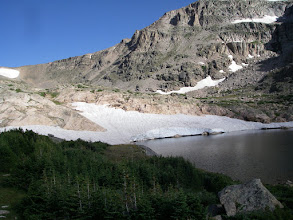 Photo: Snowbank Lake is just above Lion Lake Number Two.