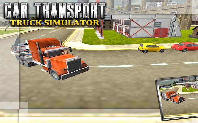 سيارة النقل Truck Simulator
