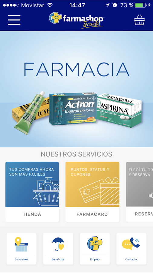FarmashopApp: captura de pantalla