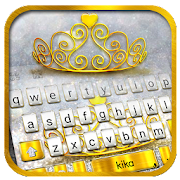 App Silver Gold Crown Keyboard Theme APK for Windows Phone