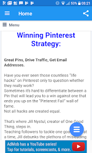 TIPS PINTEREST FREE UPDATE