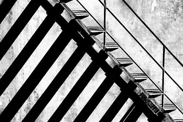 La scala di una fabbrica di g.paciphoto