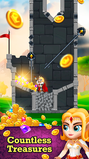 Rescue Knight - Hero Cut Puzzle & Easy Brain Test 0.15 de.gamequotes.net 3