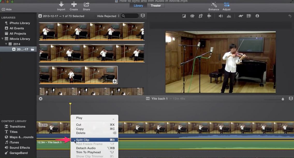 Image result for iMovie timeline videos