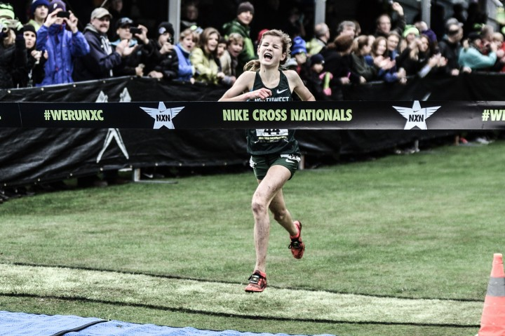 Local high school runners show off stuff at Nike Cross Country