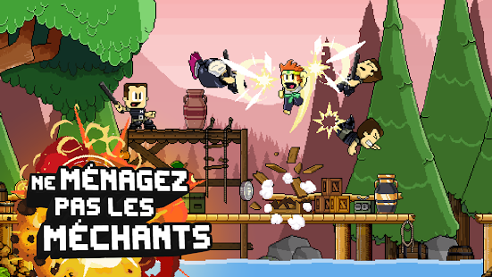 Dan the Man: Action Platformer – Vignette de la capture d'écran
