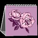 Woman Calendar(free) icon
