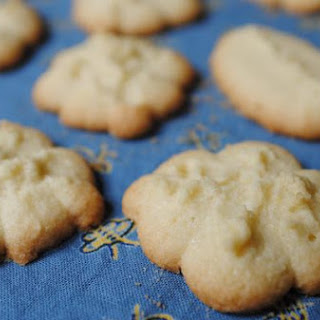 Gluten-Free Pressed Lemon Butter Cookies