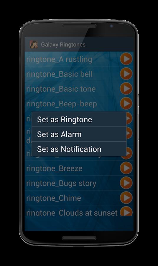 Galaxy Ringtones- screenshot