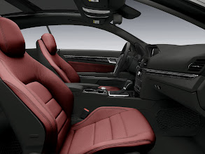 Photo: Red and Black E-Coupe interior appointment