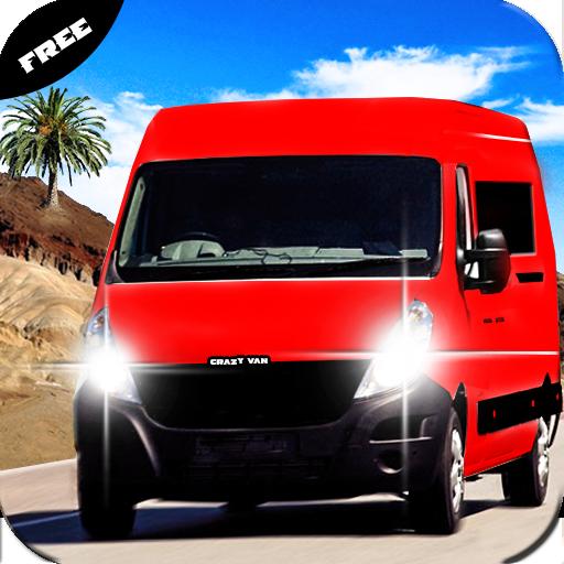 Desert Hill Van Transport: Challenge Drive