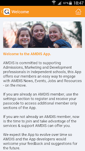 AMDIS Member App- screenshot thumbnail