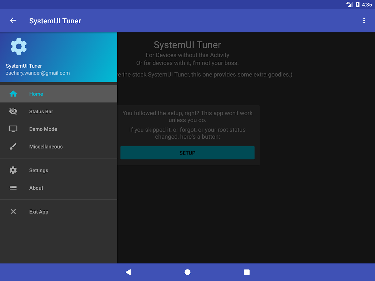 SystemUI Tuner- screenshot