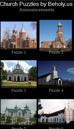 Church Puzzles by Beholy.us