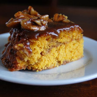 "Pumpkin ""Cinnamon Roll"" Coffee Cake"