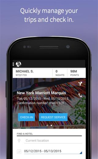 Marriott International - screenshot