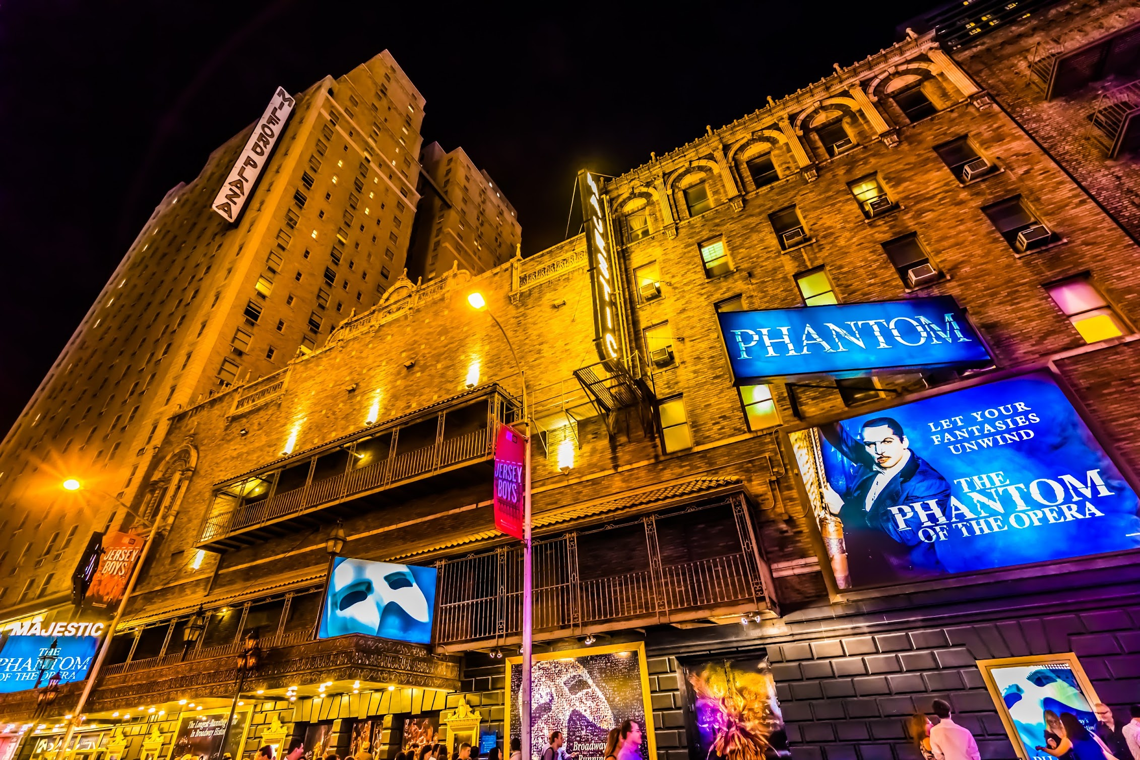 Broadway musical Phantom of the Opera Majestic Theatre2