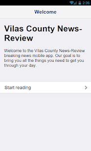 Vilas Co News Review- screenshot thumbnail