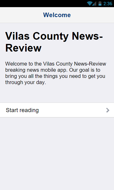 Vilas Co News Review- screenshot