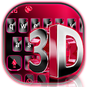 Classic 3d Red Keyboard Theme APK for Bluestacks