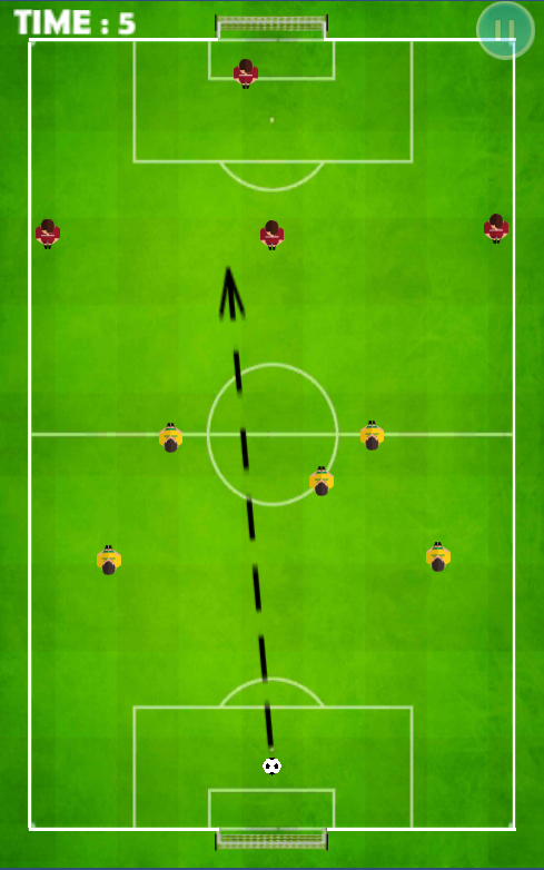 Click Football- screenshot