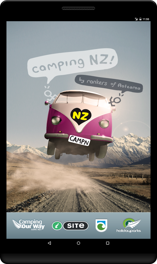 Rankers Camping NZ- screenshot
