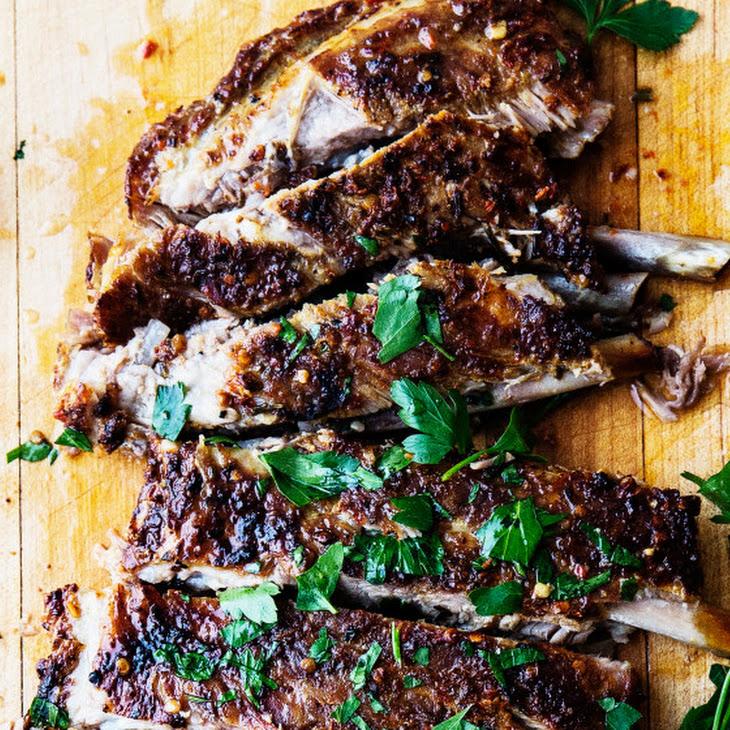 Calabrian Grilled Pork Ribs