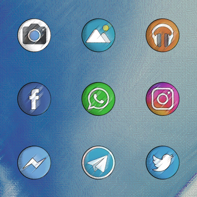 PIXEL VINTAGE - ICON PACK Screenshot Image