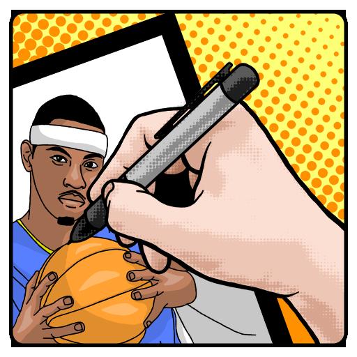 Как нарисовать баскетбол 教育 App LOGO-APP試玩