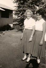 Photo: Reinheld Waltenberg - Wilberforce house prefect and head girl-1958, & Claudia Bonquardo - Vice house prefect