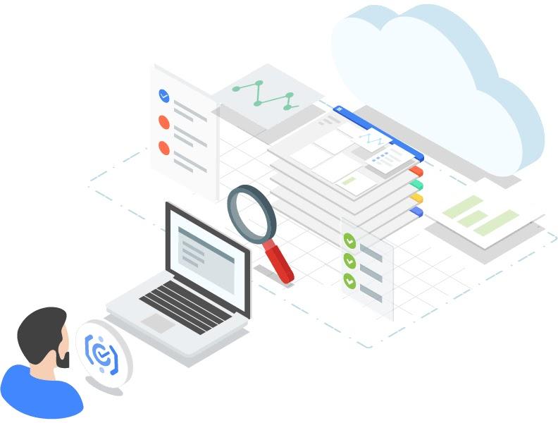 Logotipo de la descripción general de los registros de auditoría de Cloud