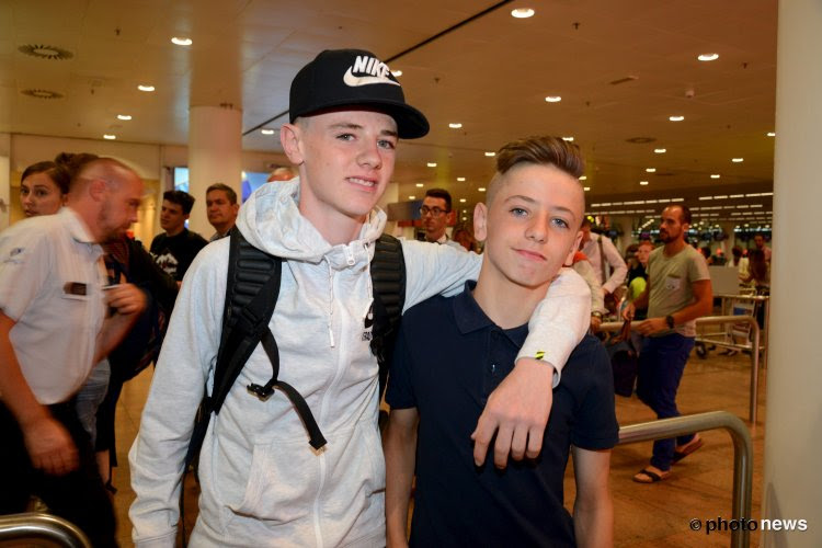 La superbe action d'Indy Boonen avec les jeunes de Manchester United