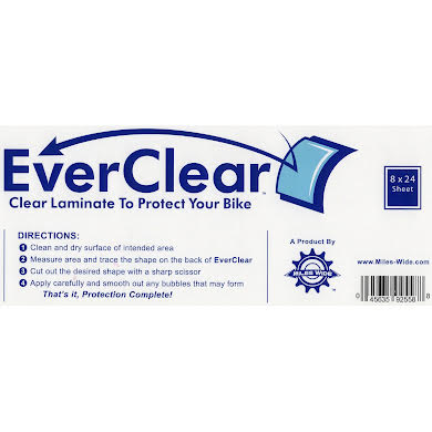 Miles Wide EverClear Frame Protector