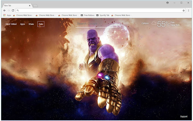 Marvel Thanos HD Wallpapers New Tab Themes | HD Wallpapers