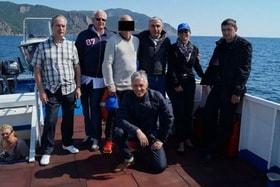 Männer auf einem Boot