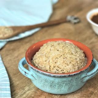 Brown Basmati Rice - Instant Pot Pressure Cooker.