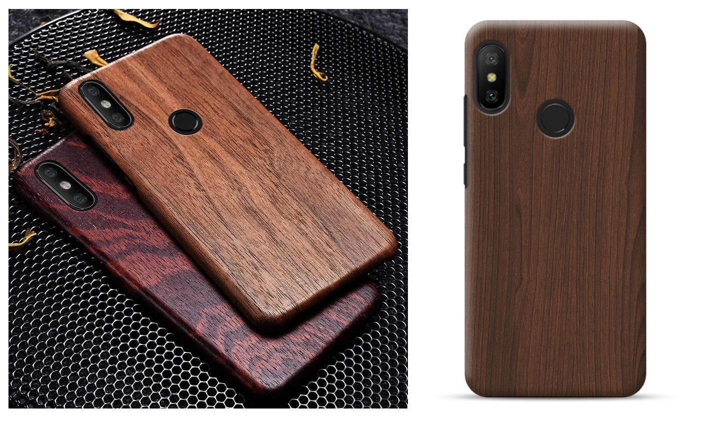 стильный деревянный чехол