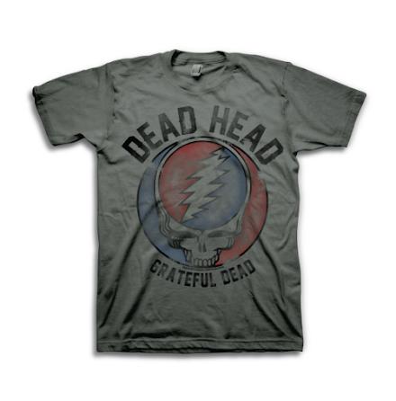 T-Shirt - Dead Head Grå