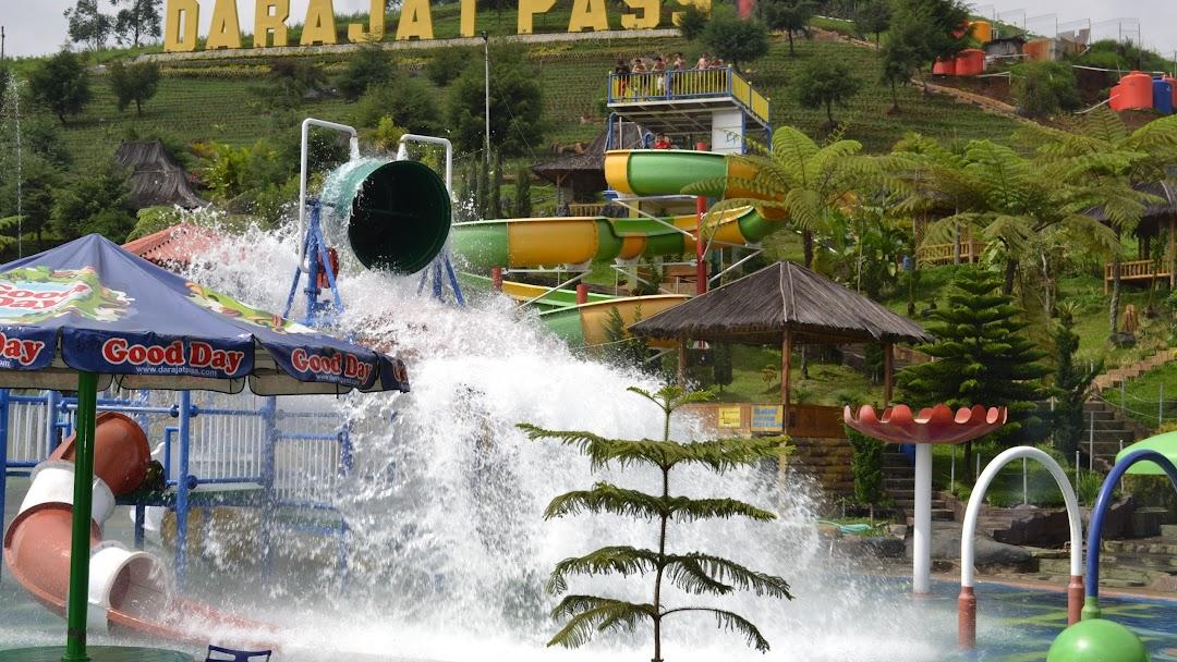 Darajat Pass Obkek Wisata Kolam Renang Air Panas Water Park