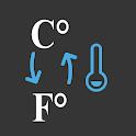 Celsius to Fahrenheit / °C to °F Converter icon