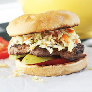 Southern-Style Slaw Burgers.
