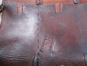 Photo: Swedish Mauser Ammo Bag (unstitched)