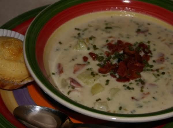Yummy & Creamy Potato Soup Recipe