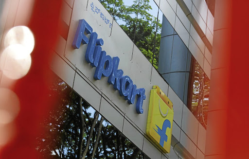 The logo of India's e-commerce firm Flipkart is seen on the company's office in Bengaluru, India, on  April 12 2018. Picture: REUTERS/ABHISHEK N CHINNAPPA