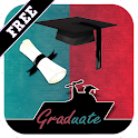 Greeting Card for Graduation icon